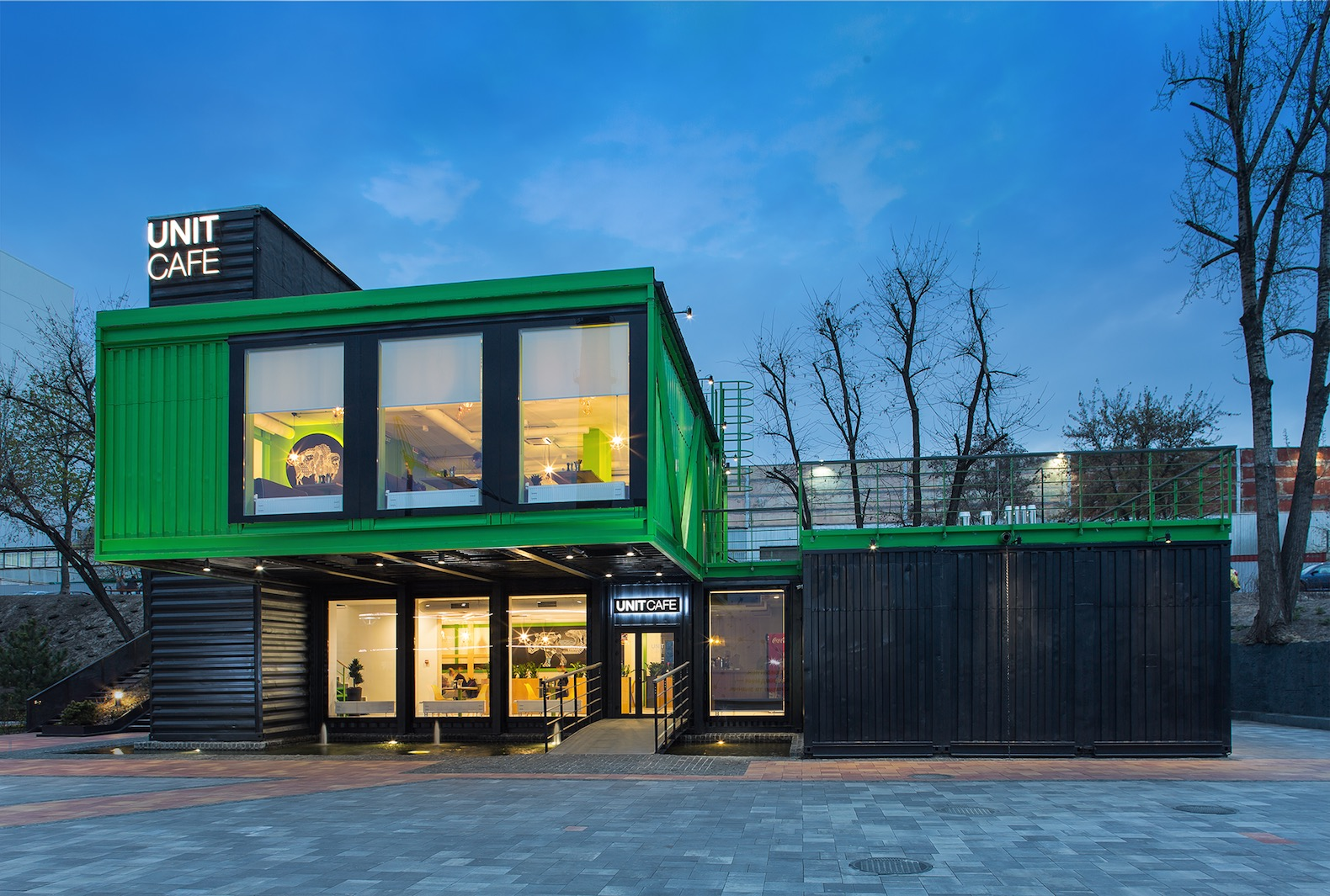 shipping container architecture inhabitat green design innovation architecture green building. Black Bedroom Furniture Sets. Home Design Ideas