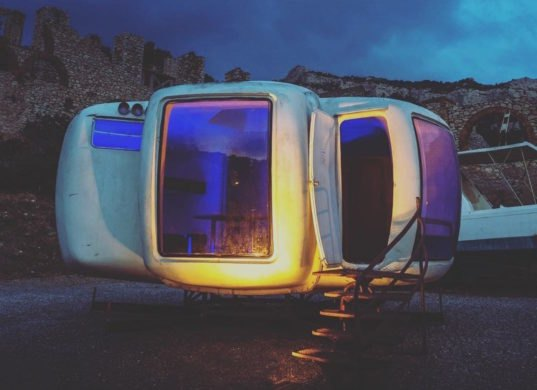 Tiny Home Designs: Futuristic Tiny Homes In France Look Like They're From