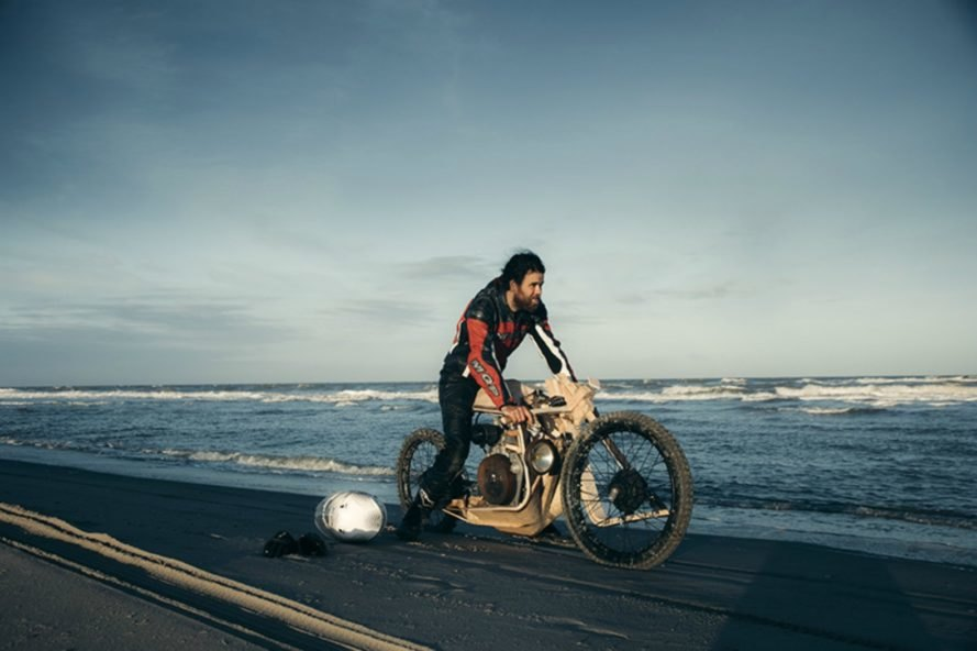 Ritsert Mans, wooden bike, algae oil, eco-friendly, renewable energy, biofuel, Peter Mooij,