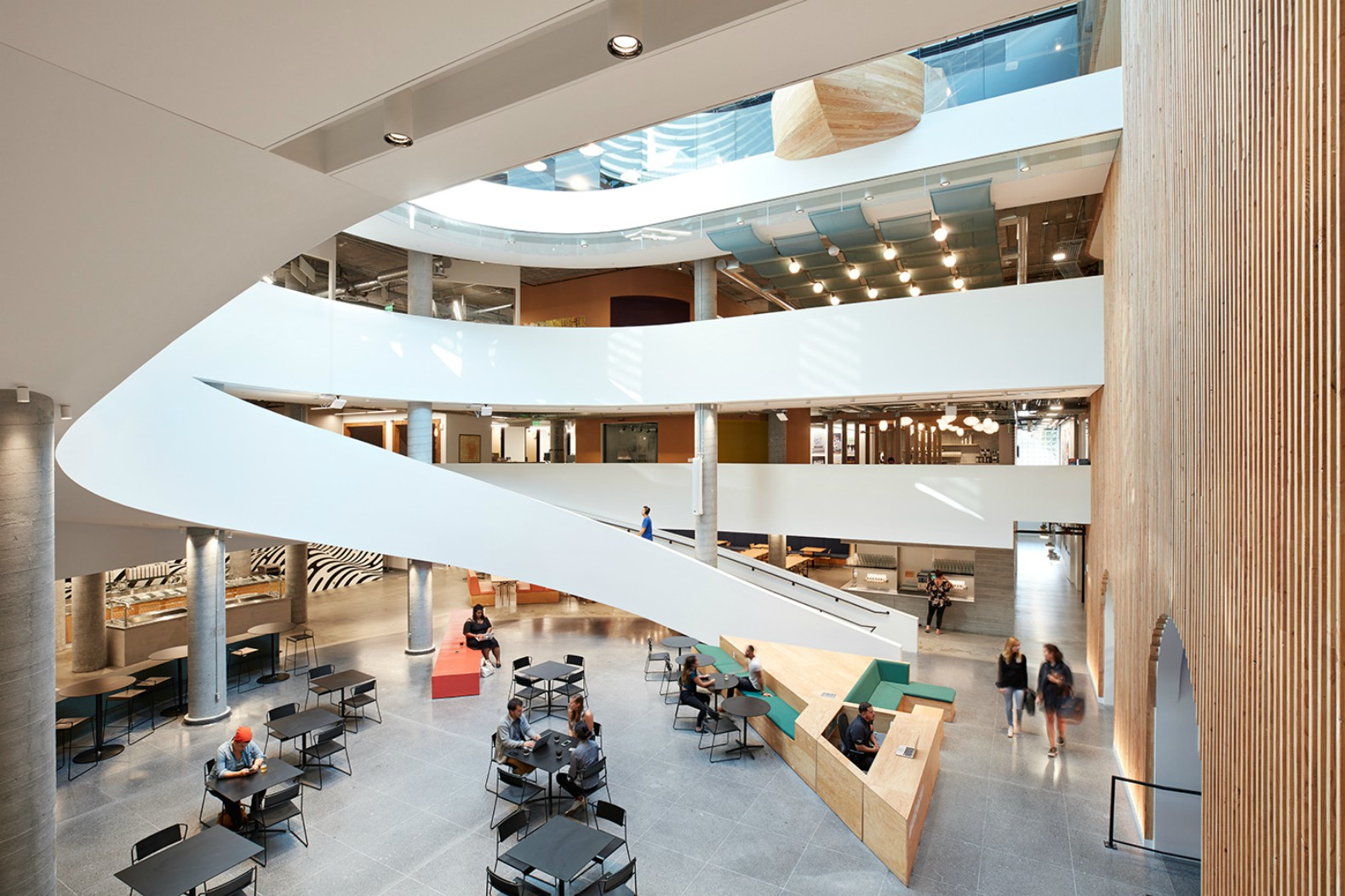 new office design. Airbnb\u0027s Swanky New San Francisco Office Has A Sky Boat, Castle And 16 International \u201cneighborhoods\u201d Design
