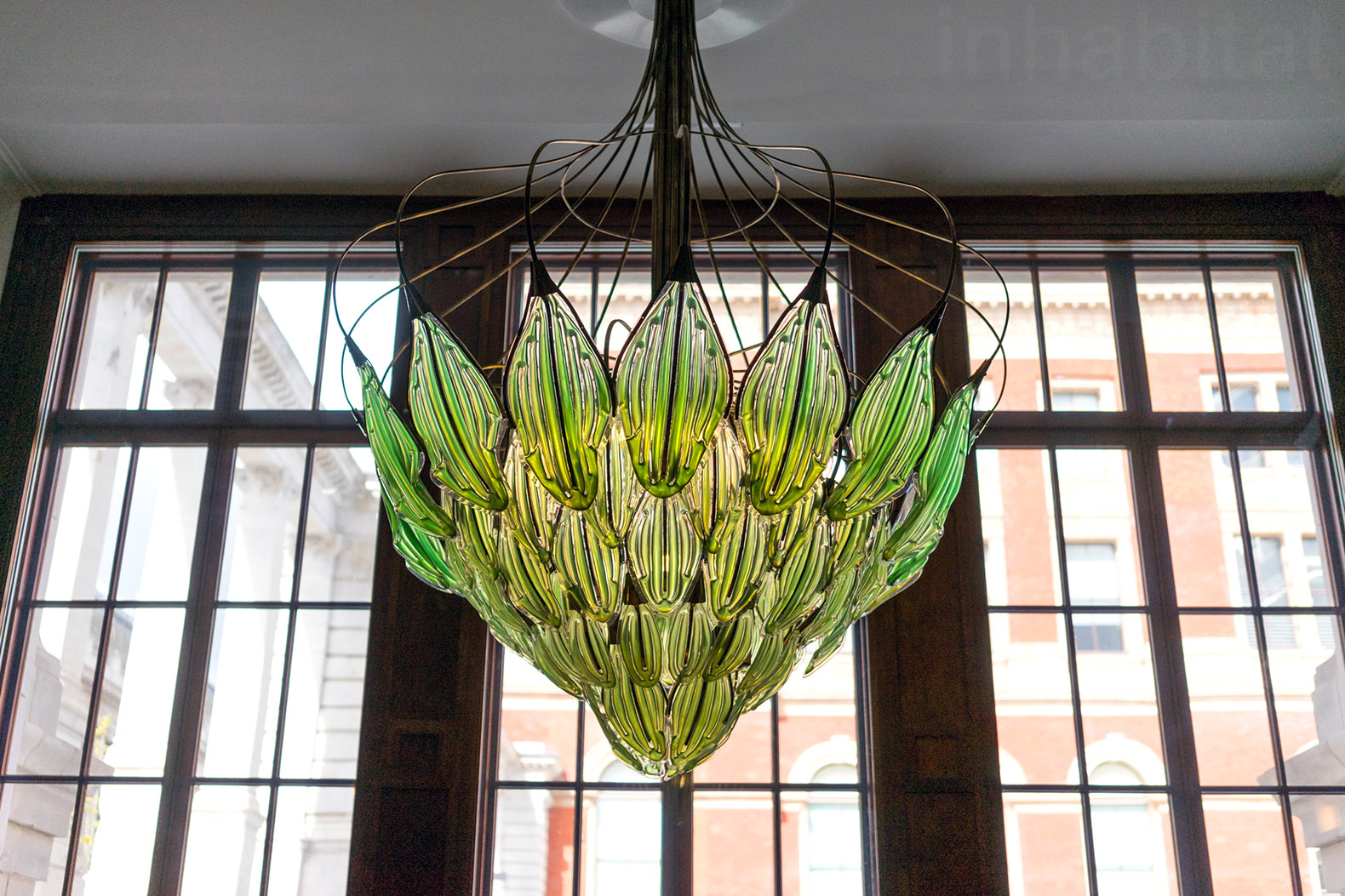 Julian Melchiorri, Breathe Chandelier, Algae Chandelier, Algae Chandelier  That Purifies The Air,
