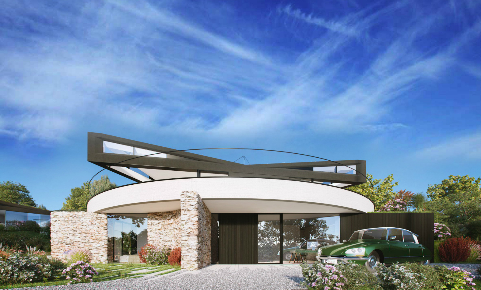 This amazing rotating home lets you change the view with a push of a button