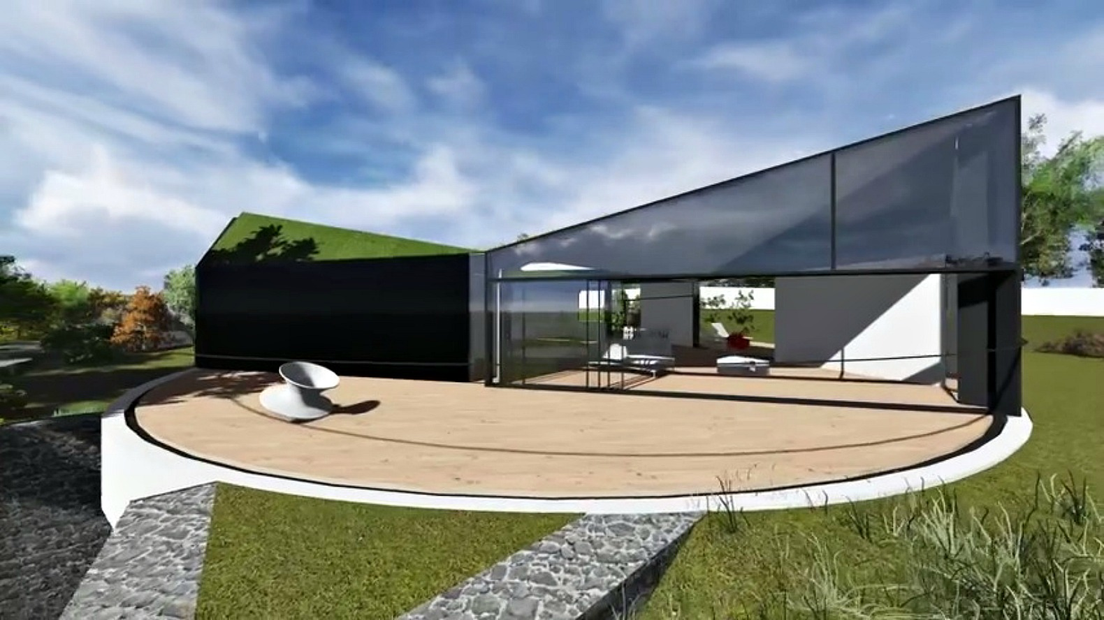 D Haus Company Unveils Stunning Home Design With Rotating