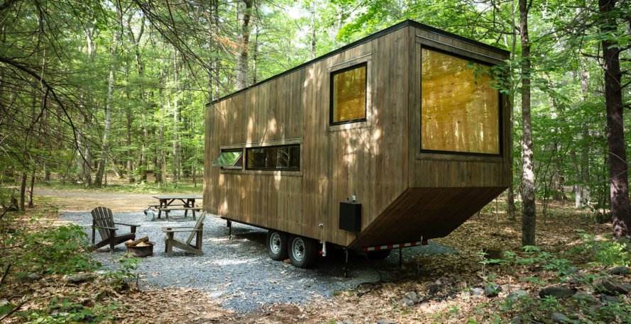 Getaway is launching new tiny house rentals in washington for Rent house for a night