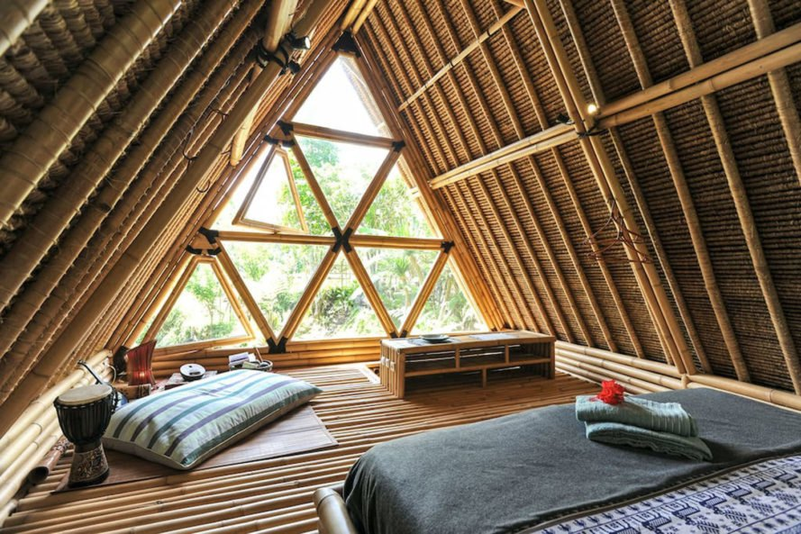 Jarmil Lhoták, Alena Fibichová, Hideout Bali, bamboo buildings bali, bamboo buildings, bamboo building material, locally sourced materials, bamboo house bali, green materials, off grid getaways, off grid retreats, sustainable design, eco projects in Bali, bamboo retreats