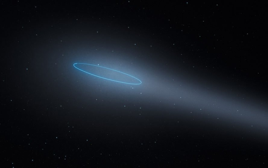 Hubble Space Telescope, Hubble, Max Planck Institute for Solar System Research, 288P, asteroid, asteroids, binary asteroid, comet, comets, main-belt comet, main-belt comets, asteroid belt, binary main-belt comet, space, science, astronomy
