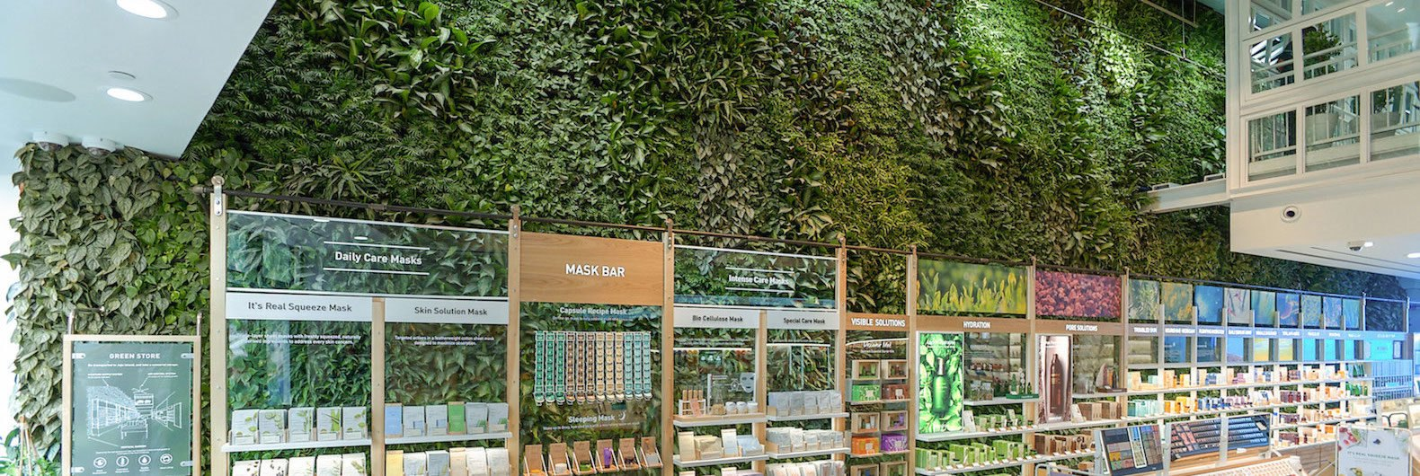 Nearly 10,000 Plants Grow On NYCu0027s Largest Public Indoor Green Wall