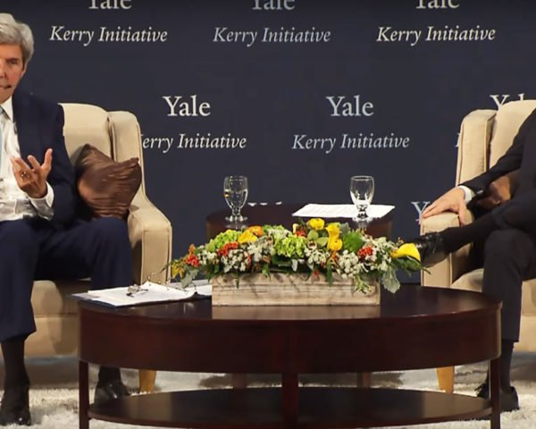 Leonardo DiCaprio, Leonardo DiCaprio Foundation, LDF, Yale Climate Conference, John Kerry, grants, grant, money, climate action, climate solutions, climate change, environment, conservation