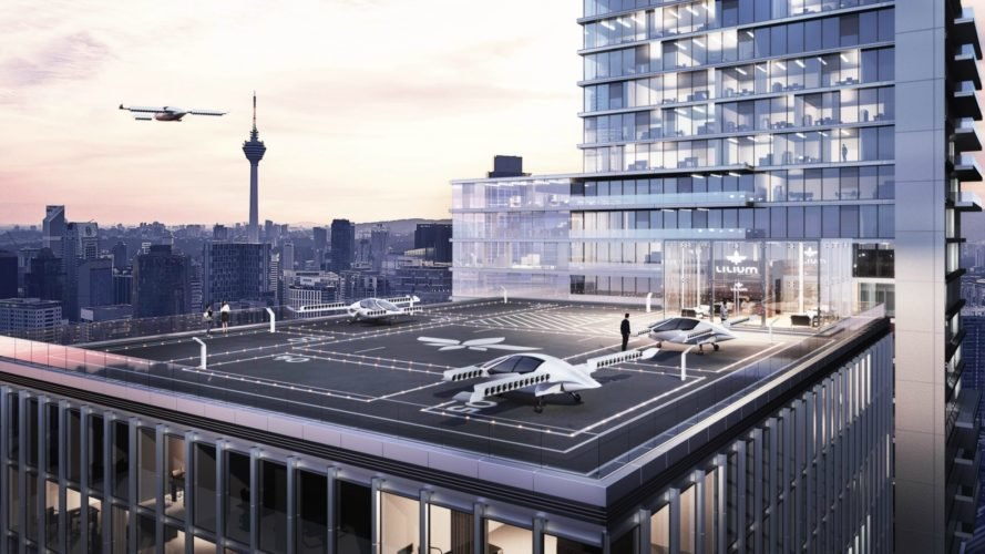 Lilium, German, start-up, electric, flying taxi, eco-friendly, innovation, aviation, green transportation, green technology,
