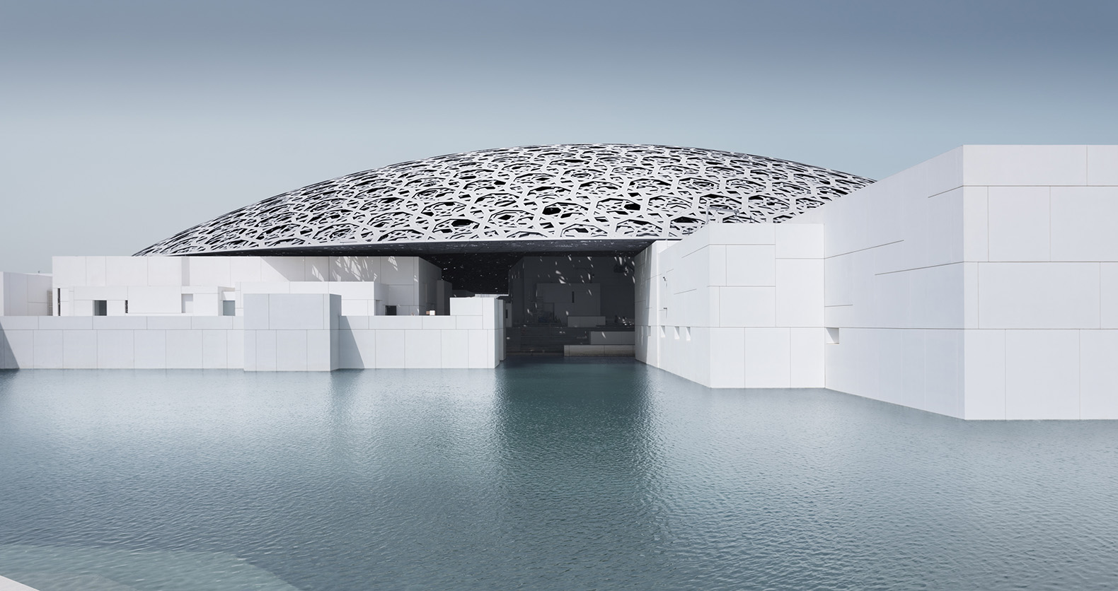 Jean nouvel designed louvre abu dhabi set to open in for Architecture jean nouvel