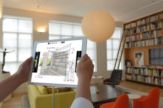 Morpholio S New Augmented Reality Feature Lets You Sketch