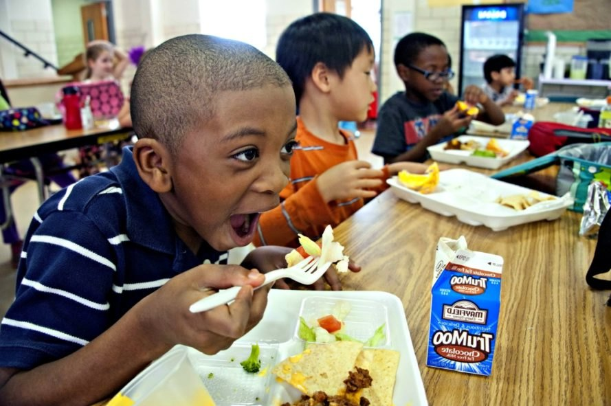 free lunch, New York City, public schools, child poverty, positive news, New York,