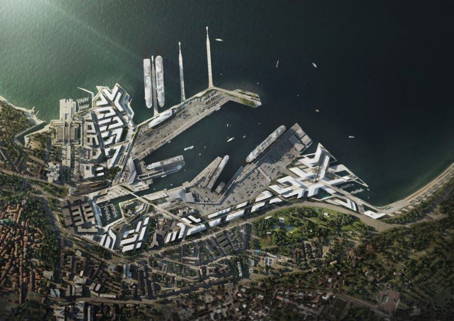 Port of Tallinn Masterplan by Zaha Hadid Architects, Port of Tallinn Masterplan, Port of Tallinn, Old City Harbor Tallinn, pedestrian friendly Tallinn, Zaha Hadid Architects masterplan, port redevelopment masterplan,