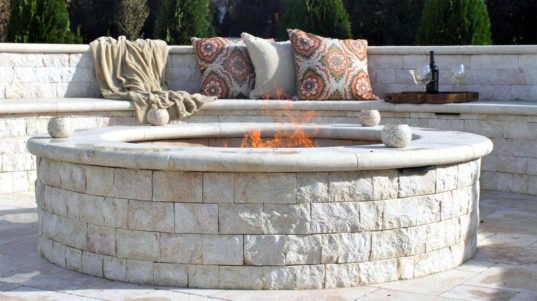 Why natural stone is the best choice for your fireplace
