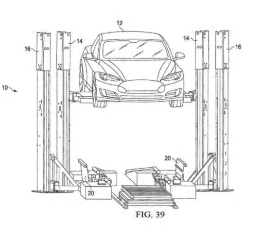 tesla patent reveals plans for a new battery