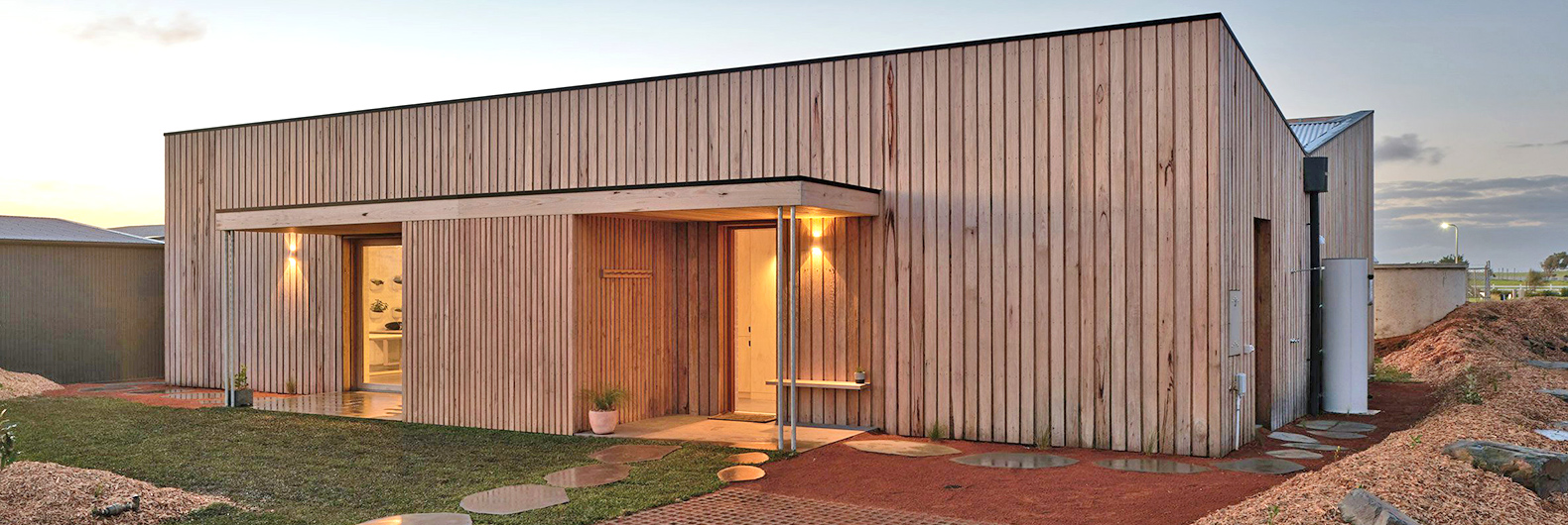 Australia's first carbon-positive and zero-waste home is built of non-toxic materials