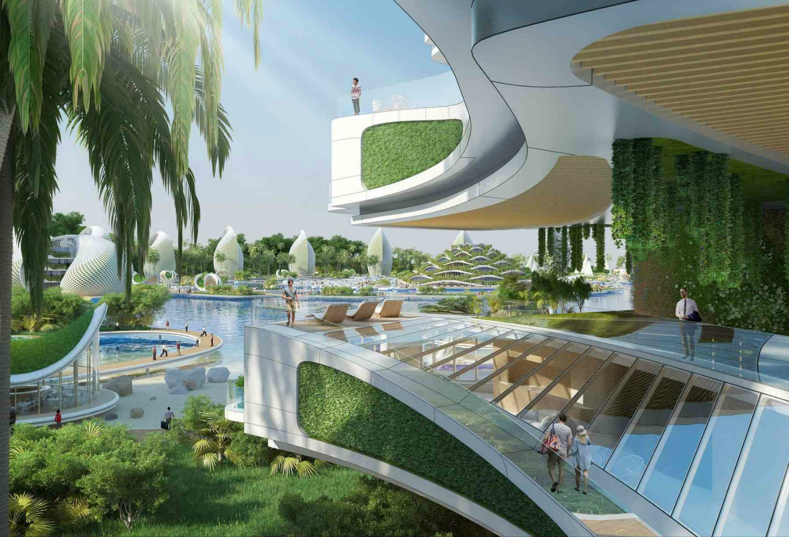 Vincent callebaut 39 s visionary eco resort for the - Green design ...