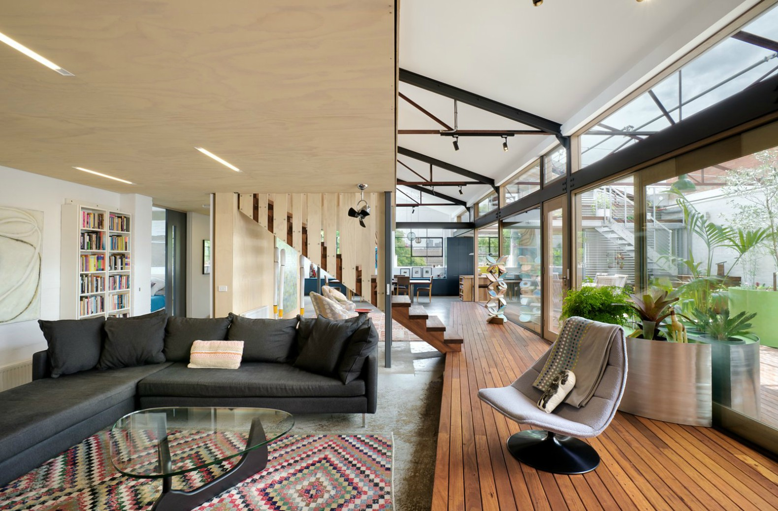 Zen Architects repurposed warehouse Up-Cycled Warehouse warehouse turned into home & Bazsux: Melbourne architects upcycle 1960s warehouse into stunning ...