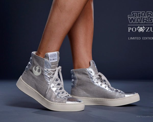 Po-Zu, Star Wars, Piñatex, vegan fashion, vegan leather, eco-friendly sneakers, sustainable sneakers, eco-friendly fashion, sustainable fashion, eco-fashion