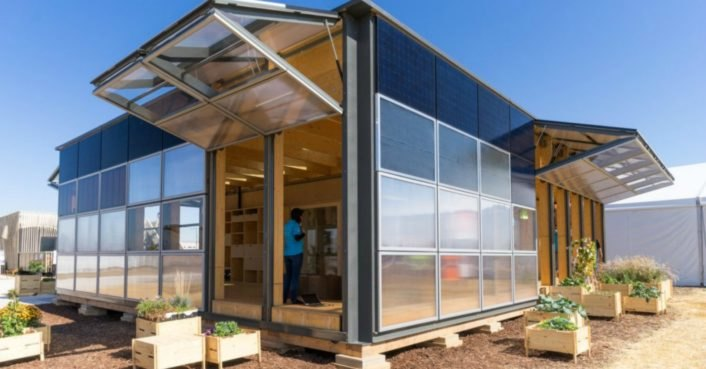 Switzerland's NeighborHub wins first place in the Solar Decathalon 2017