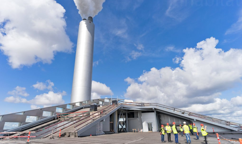 Denmark Fires Up Its Copenhill Power Plant With Ski