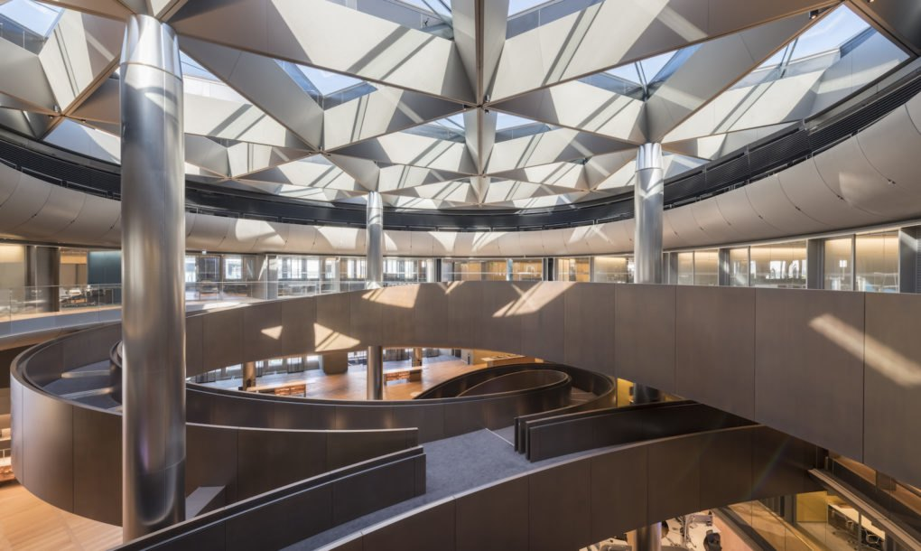 Foster Partners Bloomberg Hq Opens In London As World