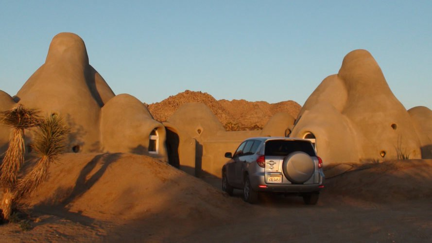 bonita domes, lisa starr, joshua tree, calearth, earthbag building, nader khalili, eco home, dome home, dome village, green building, sustainable design, airbnb, accommodation, camping