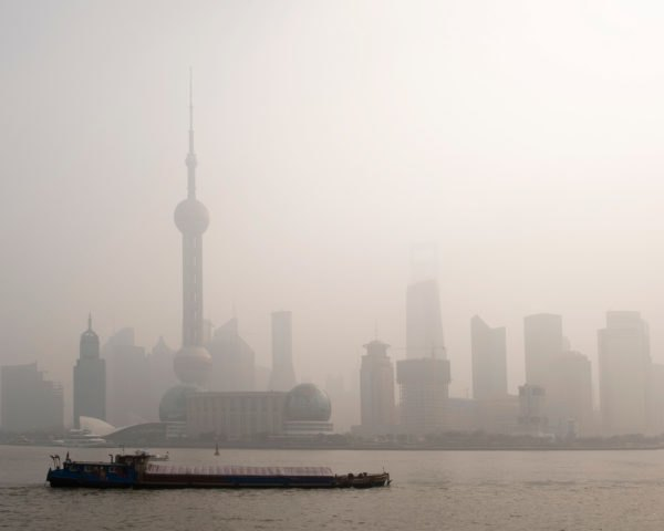 China, pollution, air pollution, air quality, smog, China air pollution, China pollution, China smog, China emissions, emissions, factory, factories, Shanghai