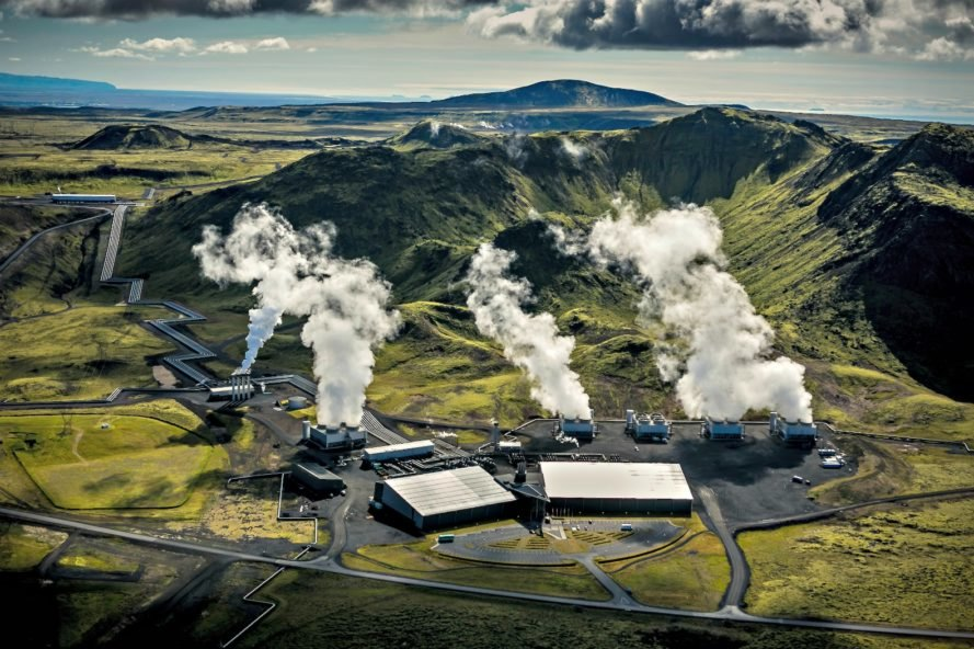 Iceland, geothermal power plant, negative emissions, environment, climate change, global warming, sustainability, innovation, green technology,