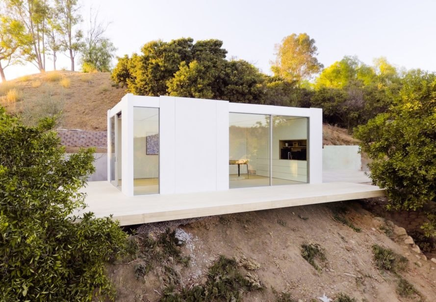 Cover prefab, Cover Los Angeles factory, Passive House prefabs, prefab architecture Los Angeles, prefab home factory LA., modular architecture Los Angeles, energy efficient prefabs