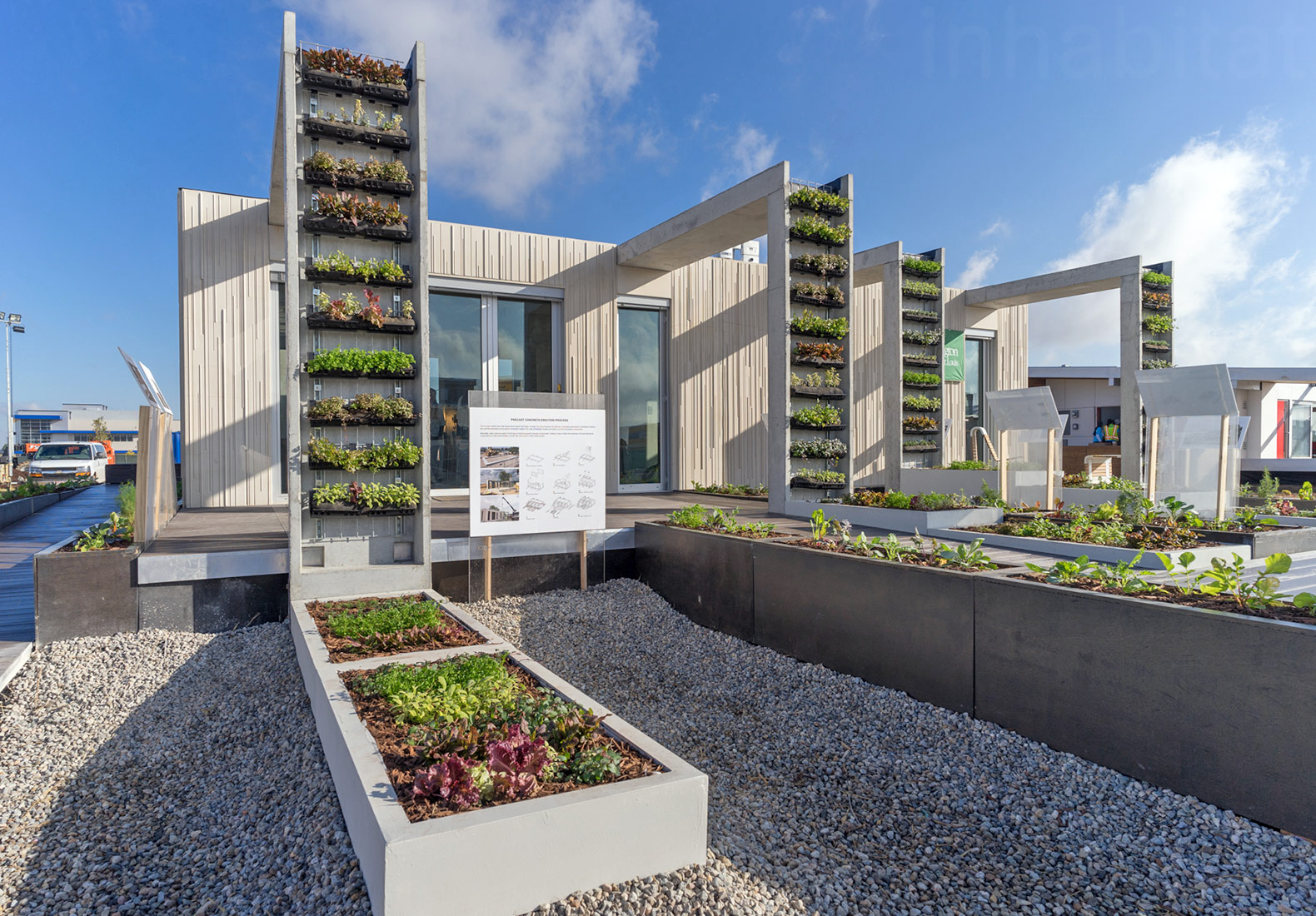 Crete House, Washington University Solar Decathlon, Prefabricated Concrete, Concrete  Homes, Solar Decathlon