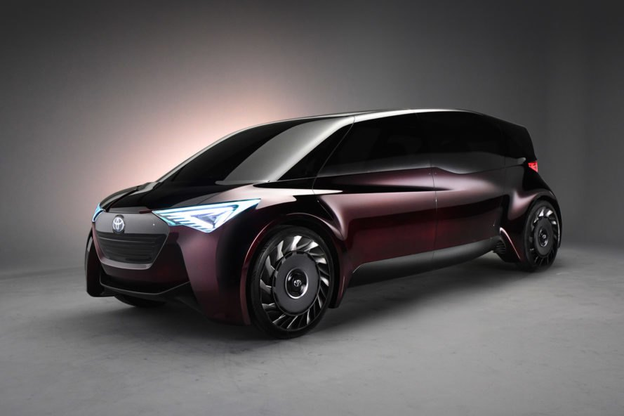 Toyota, Sumitomo Rubber Industries, Fine-Comfort Ride, Toyota Fine-Comfort Ride, concept car, concept cars, hydrogen, fuel cell, electric, electric car, electric cars, electric vehicle, electric vehicles, airless, airless tire, airless tires, automotive