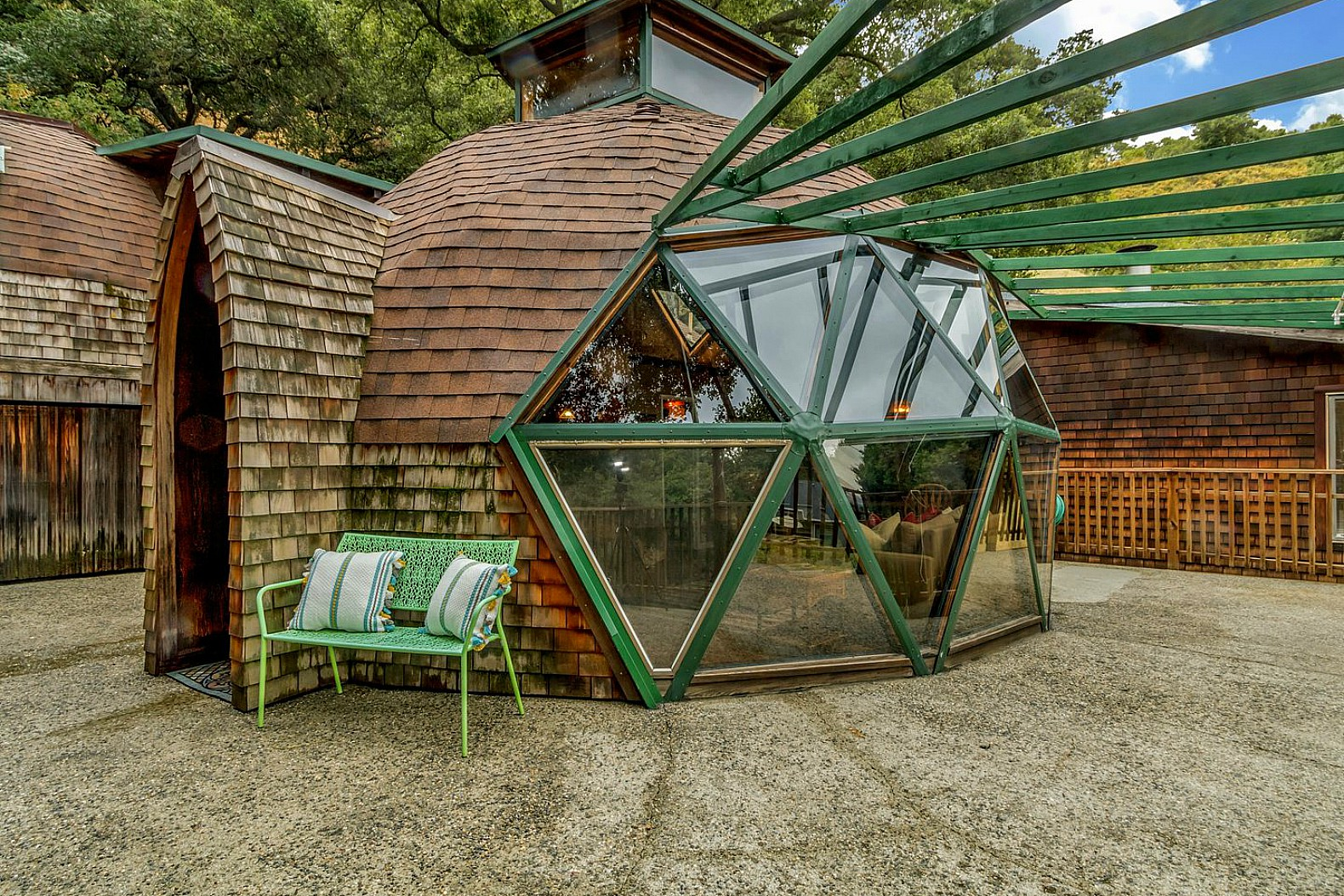 Couple Spent Seven Years Handcrafting Their Dream Geodesic