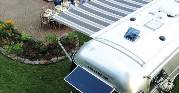 photo image Airstream unveils new off-grid ready Globetrotter trailer