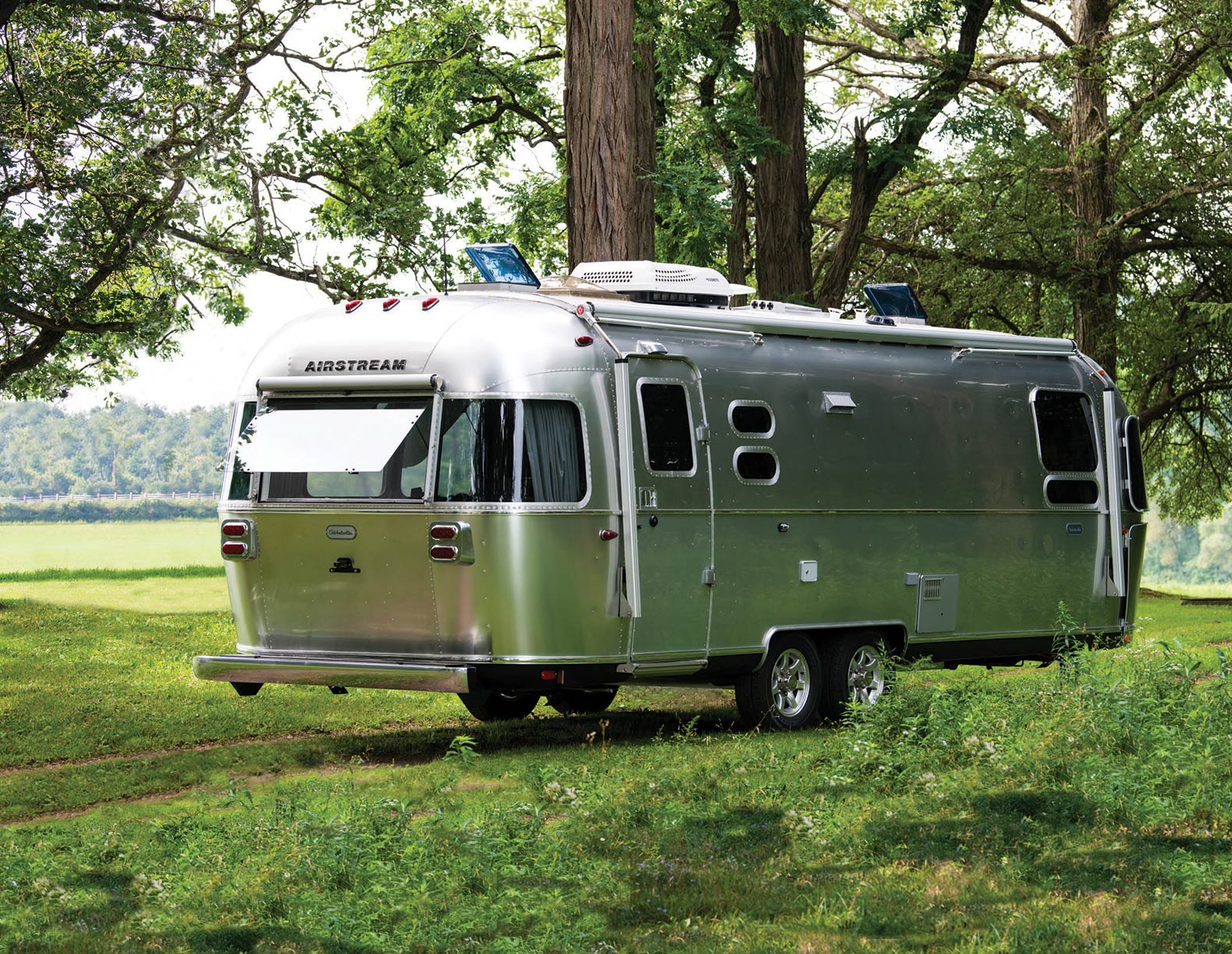 Airstream unveils new off-grid ready Globetrotter trailer