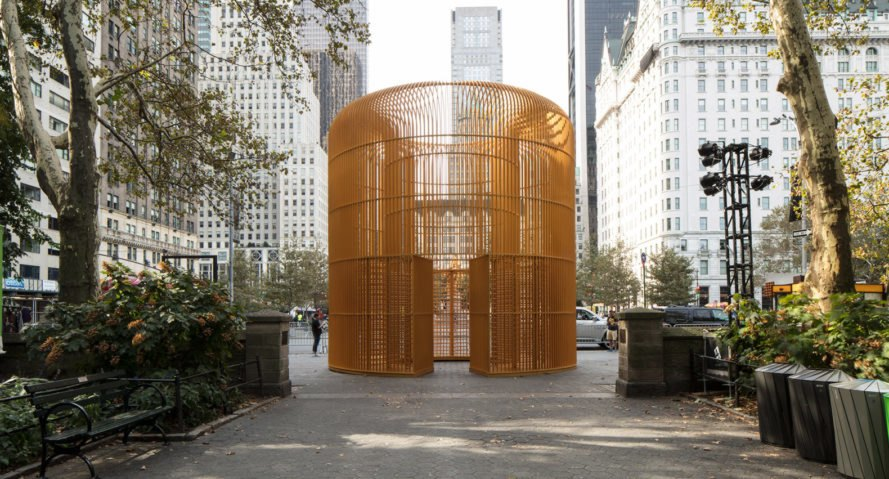 Ai Weiwei, Public Art Fund, temporary installation, New York City, temporary structures, temporary exhibition, immigration, refugee camps