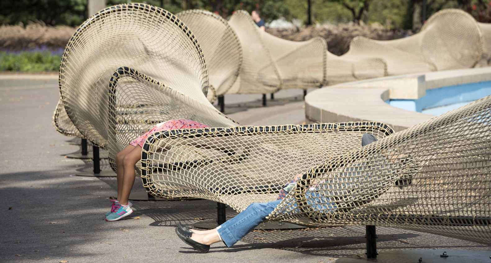 Ai Weiwei Installs Huge Fences In New York City To