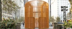 Ai Weiwei, Public Art Fund, temporary fence installations in New York, fence sculptures in New York, Gilded Cage in New York, temporary exhibition in New York City, Good Fences Make Good Neighbors