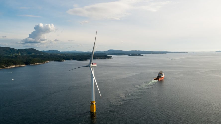Hywind Scotland, Hywind, Statoil, Masdar, Scotland, floating wind farm, floating wind farms, floating, wind farm, wind farms, wind turbine, wind turbines, offshore wind, offshore wind farm, offshore wind energy, offshore wind power, offshore, wind energy, wind power, clean energy, renewable energy, energy
