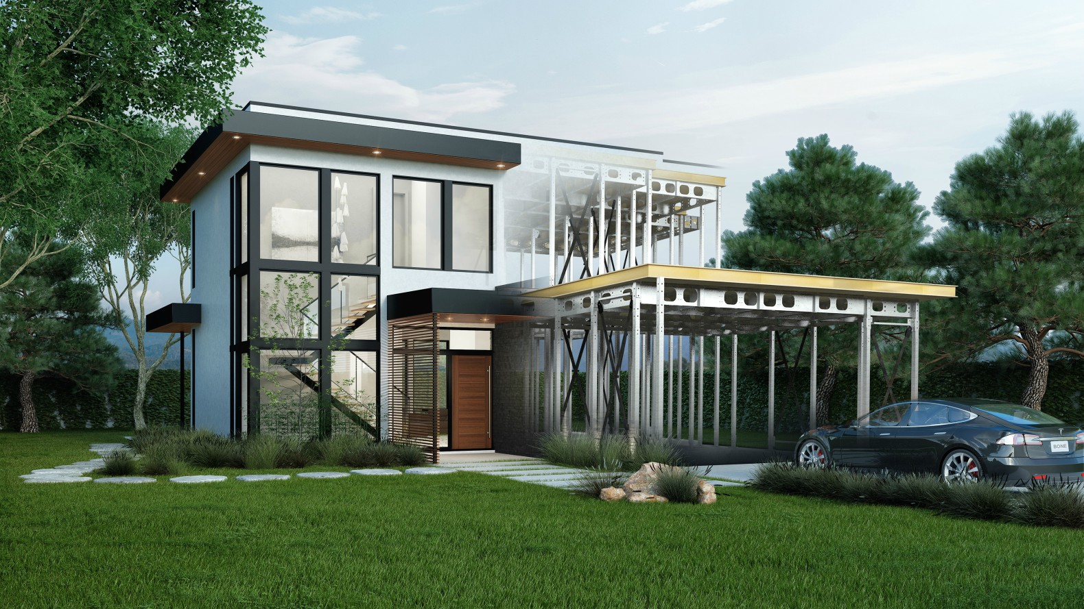 Leading stanford climate scientist builds incredible net for Netzero home plans