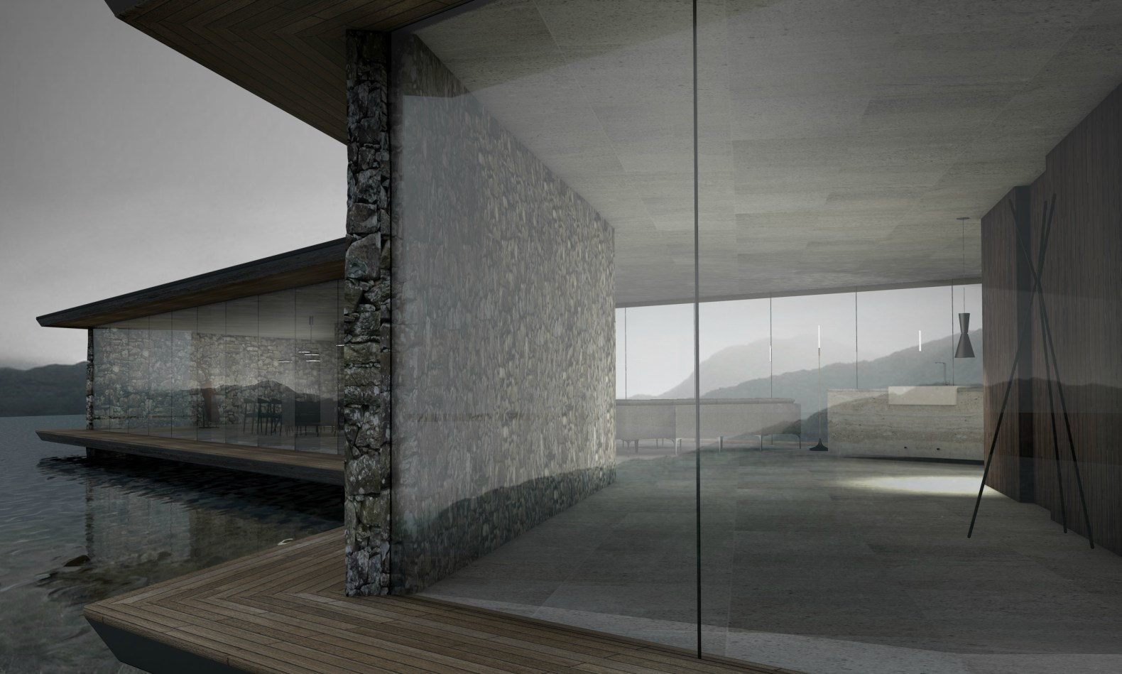 Antony Gibbon\'s Lucent House is a serene minimalist retreat made of ...