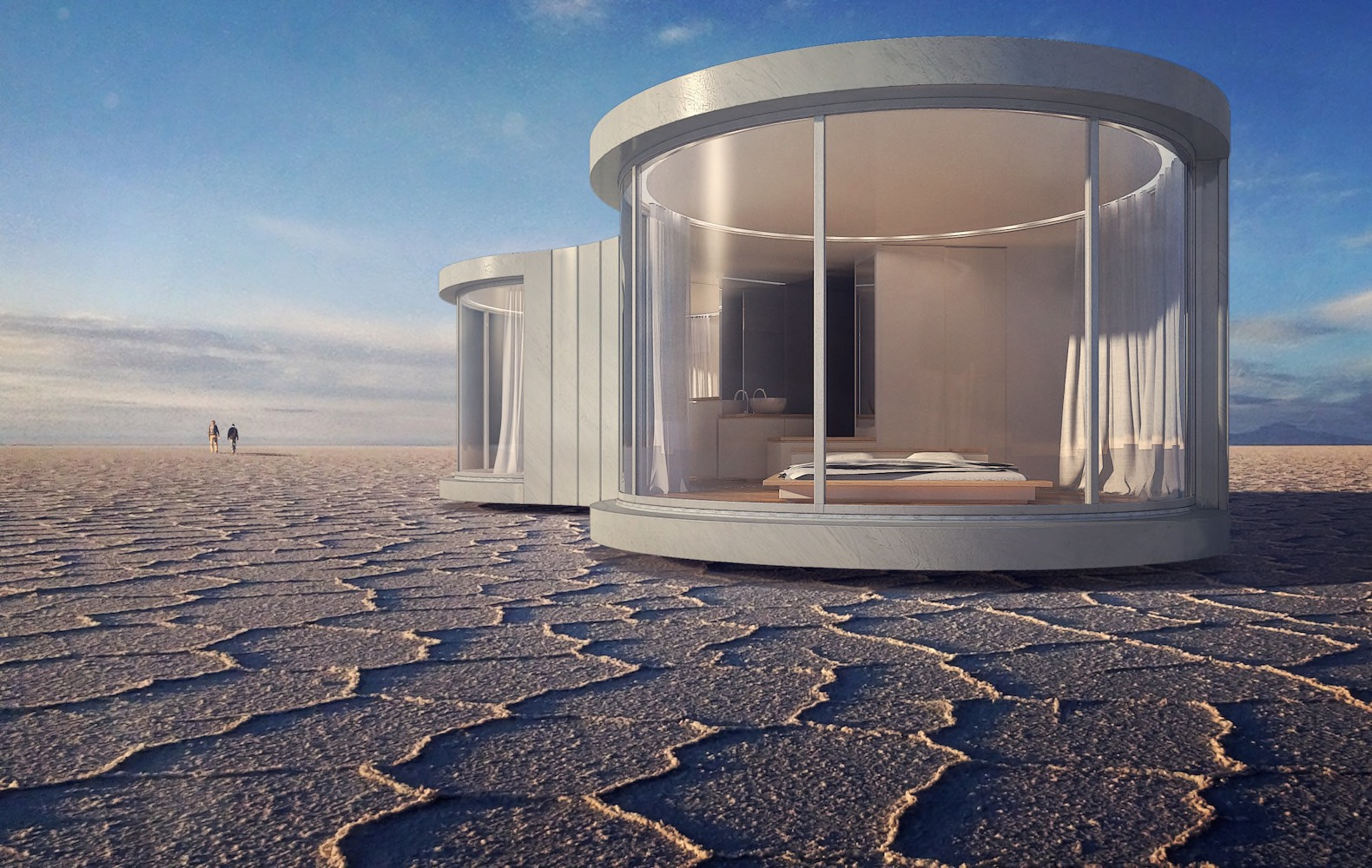 2017 06 ultra modern kit homes - This Pop Up Prefab Cocoon Can Immerse You In The Heart Of Nature