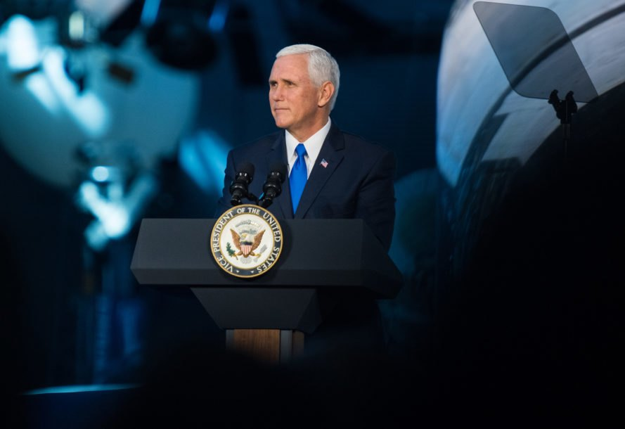 NASA, National Space Council, Mike Pence, Vice President Mike Pence, space, outer space, deep space, moon, lunar, Mars, America, United States