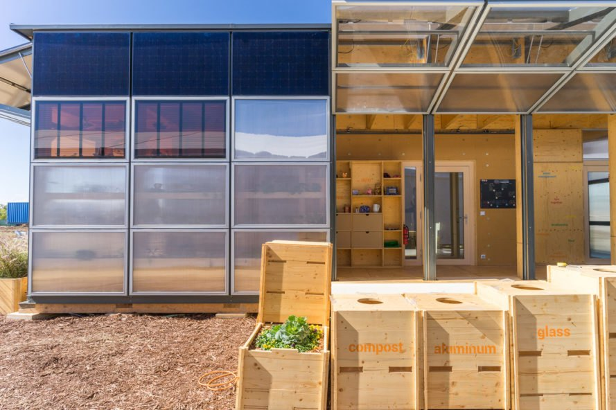 NeighborHub by the Solar Decathlon Swiss Team, NeighborHub, NeighborHub Solar Decathlon, Solar Decathlon Swiss Team, Solar Decathlon sustainable architecture, solar-powered neighborhood hub, prefabricated neighborhood hub, transformable architecture eco-friendly