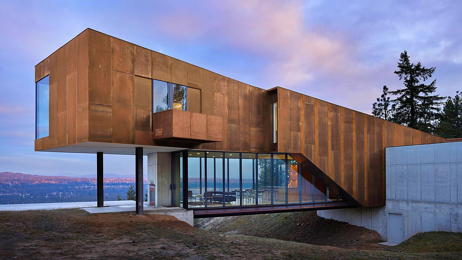Olson Kundig Architects, Rimrock, Spokane Washington Home, Kundig  Architecture, Home Design,