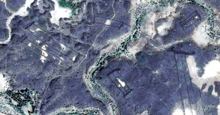 Hundreds of mysterious stone structures discovered near ancient volcanoes in Saudi Arabia