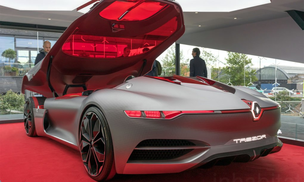 Renault Trezor Concept previews an exciting electric ...