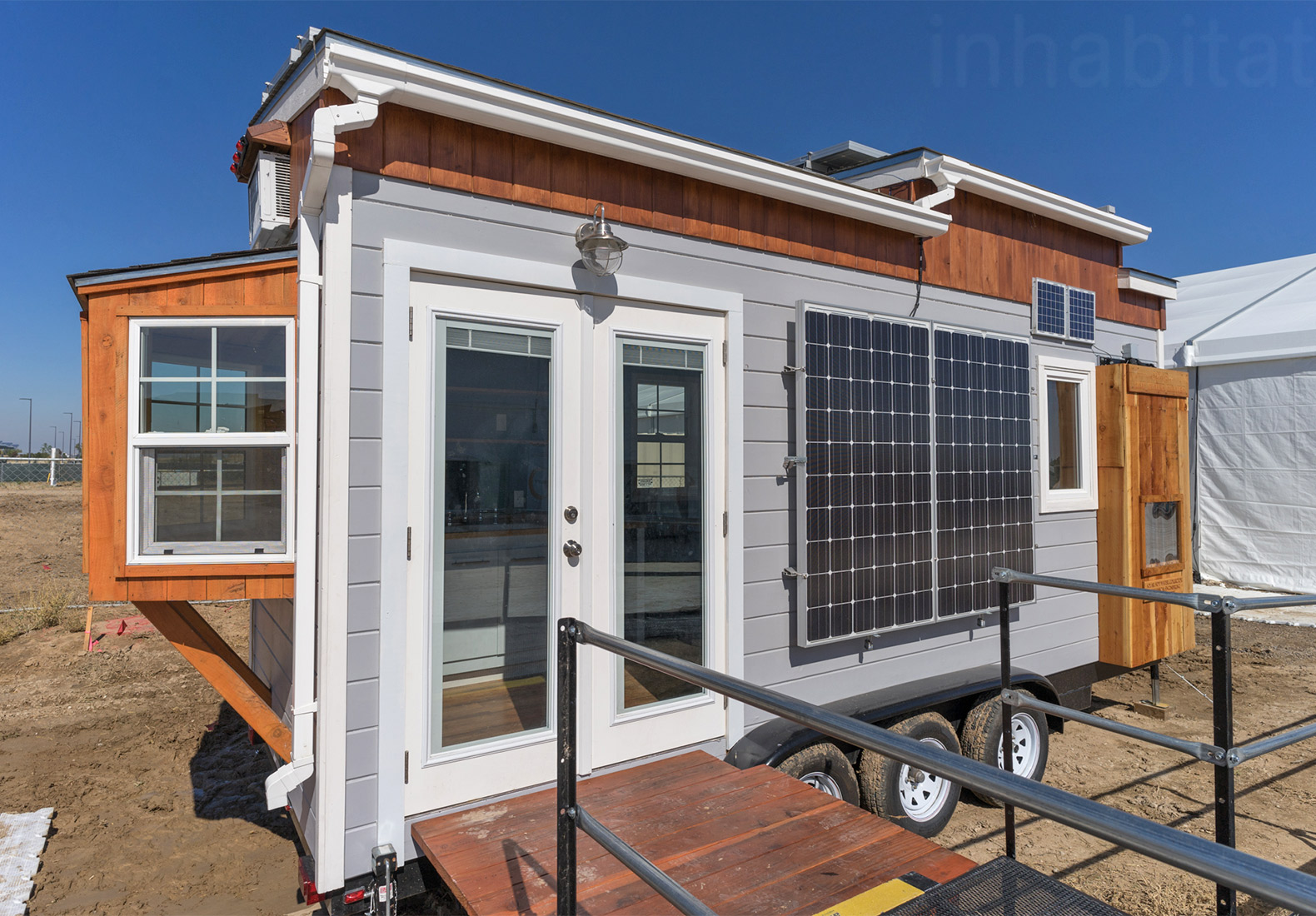Student-built solar-powered tiny home represents new vision for the American dream