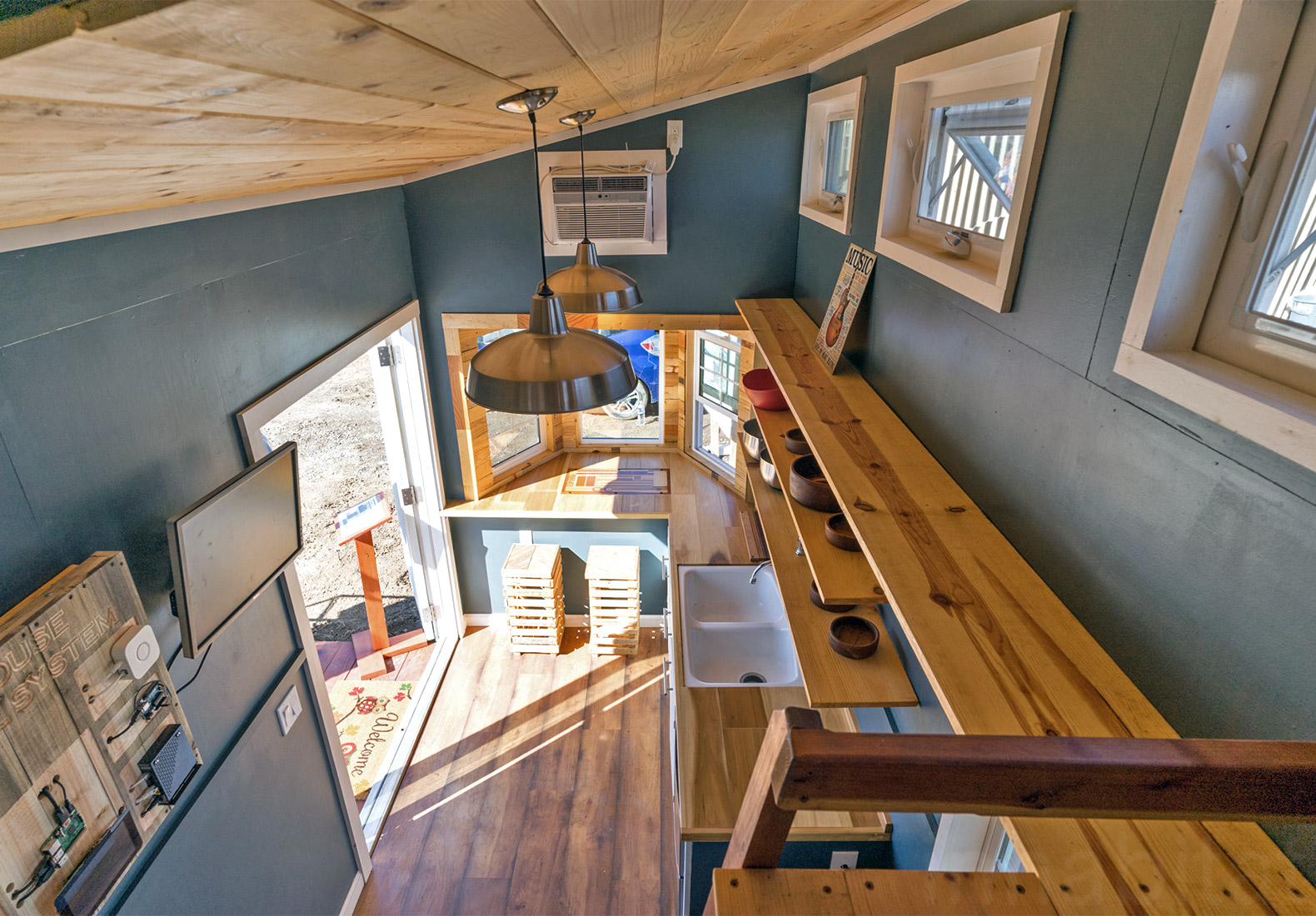 Student Built Solar Powered Tiny Home Represents New