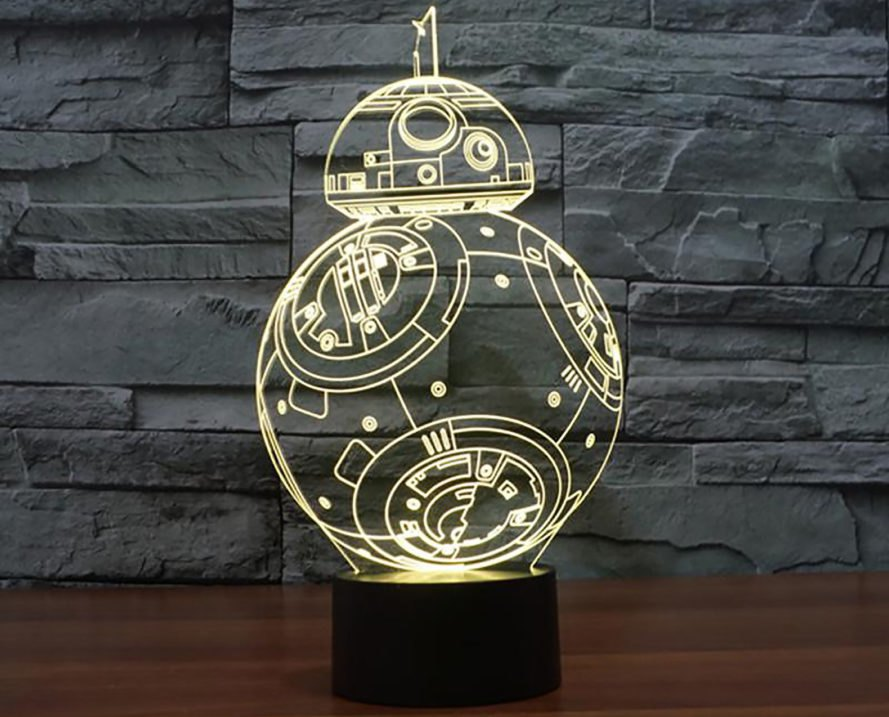 Star Wars, Star Wars lamp, Star Wars lamps, lamp, lamps, Star Wars LED lamp, Star Wars LED lamps, LED lamp, LED lamps, LED, LEDs, LED light, LED lights, LED lighting, design, BB-8, stormtrooper, stormtrooper helmet, Death Star